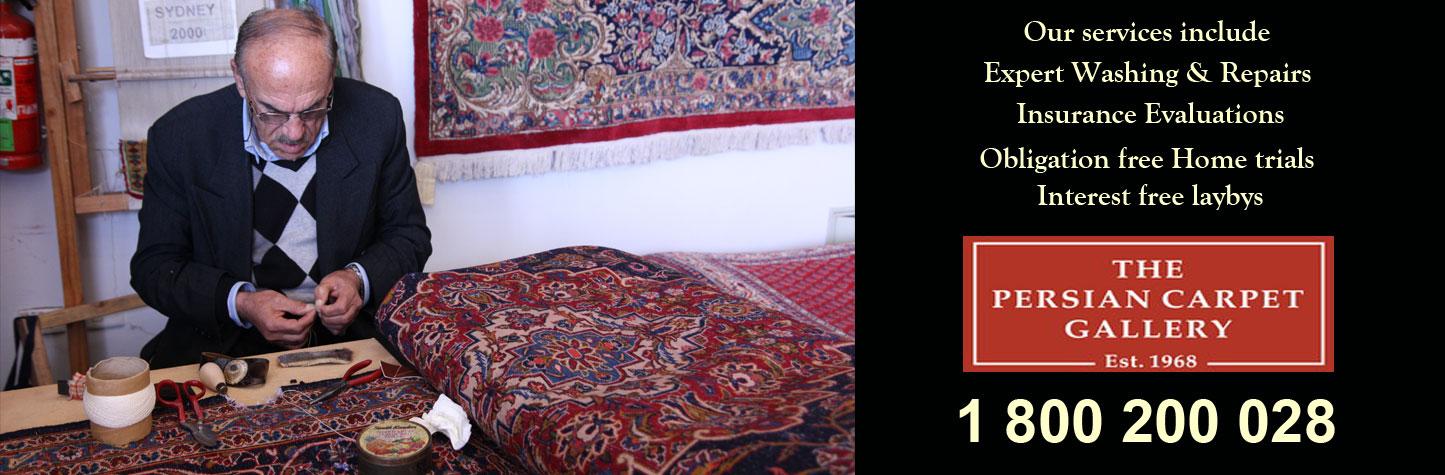 Rug washing and repairs and rug restoration
