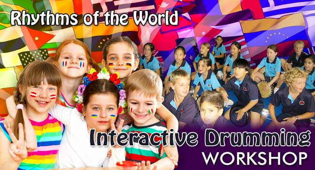 Rhythms of the World Drumming Workshop